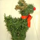 クリスマス★かわいい★トナカイのオブジェ