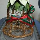 ハンドメイドクリスマスリース
