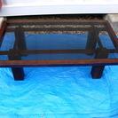 424 サイドテーブル ガラス天板 maruni インテリア