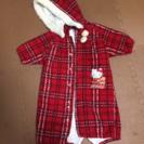 子供用 ハローキティジャンプスーツ