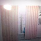 ニトリ既製カーテン(ティアラ2RO 100X178X2)