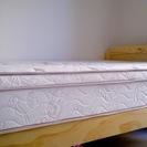 使用1年未満 ベッド(マットレス+フレーム)