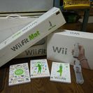 Wii本体、Wii fitボード、Wii fitマット、ソフト付き