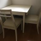 【美品★】ダイニングテーブル白