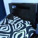 収納付きライト付きベッド