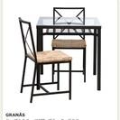 【値下げ】【IKEA】ブラウン_ダイニングテーブル