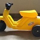 YAMADA 幼児用の乗用玩具 黄色いミニバイク  中古です。