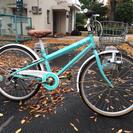 24インチ 自転車 エメラルドグ...