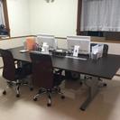 【終了】大きなオフィス用デスク 美品