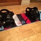 スノーボード板、ブーツ(古)