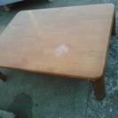 ニトリ製品 折りたたみローテーブル 天然木(ラバーウッド)差し上げます