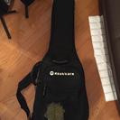 ギター用セミハードケース(ソフト、クッション厚め)