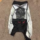OGK☆自転車レインカバー(リア)+ヘルメット