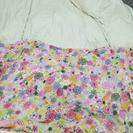 ダブル掛け布団(ニトリ)+カバー(IKEA)