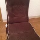 値下げ!ニトリの茶色の座椅子2脚
