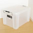 収納BOX(収納ケース) 幅54×高32×奥37.5㎝ 半透明