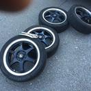 レース資金のためほぼ新品のタイヤホイールセット売ります