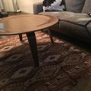 イームズリプロダクトコーヒーテーブル、ペンドルトンラグ 2点