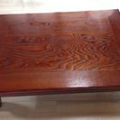 和風の座卓