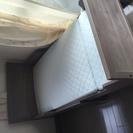 【新品・マットレス付き】3段階に伸縮可能なIKEAシングルベッド