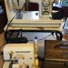 ミシン3台と裁縫小物