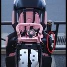 ★リサイクル(中古)・OGK後子供乗せ・RBC-011DX3・黒/ピンク