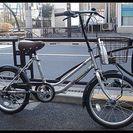 ★限定特価*新品・おしゃれ自転車・ラフィアミニ・20インチ・外装6...