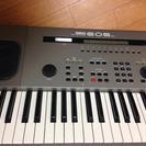 YAMAHAのシンセサイザーキーボードEOS B500
