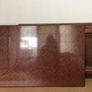 折りたたみ式の木製座卓安く譲ります。