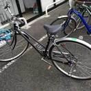 半年前購入 シティサイクル 27インチ6段変速 自転車お譲りします