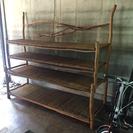 バリ島家具 木製棚