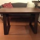 【値下げ】リビングダイニング用のテーブルの画像