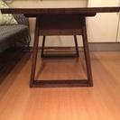 【値下げ】リビングダイニング用のテーブル - 墨田区
