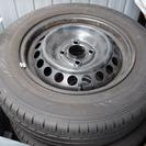 ホンダフィットGK3純正タイヤ