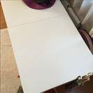 IKEA テーブル二個セット