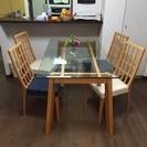 【受付終了】テーブルとイス