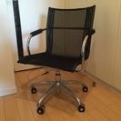 椅子/パソコンチェア(キャスター付/ガス圧昇降式/回転チェア)