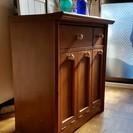 【相談中】インテリア調木製ゴミ分別収納家具