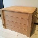 木製便利ボックスを安価でシェアします