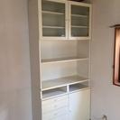 【終了しました】白いステキな食器棚 美品です!