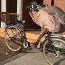 【またまた値下げ】26インチ 子供乗せ自転車  柴田郡大河原町