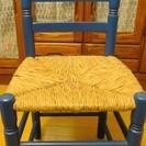 木製の椅子2脚