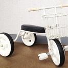 交渉成立:無印良品 三輪車 ホワイト☆直接、引き取りに来て頂ける方☆