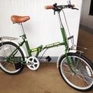 交渉成立:20インチ折り畳み自転車 『シンプルスタイル』 を500...