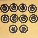 【非売品文房具】View Suica ペンギンクリップ10個 ケース付き