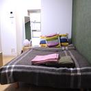 ベッド、ソファベッド、掛け布団、冷蔵庫、キッチンツール等合計20万円分一式 - 家具
