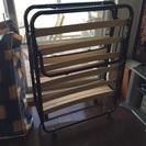 【大特価】折りたたみベッド 介護用にも使用可能 - 西宮市