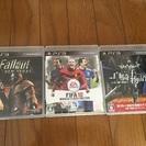 【終了】Fallout、FIFA、白騎士物語3点セット