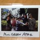 Mrs.GreenAppleサイン入りポラ