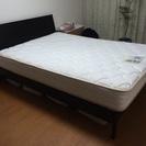 【購入者決定しました】ベッド、マットレスお譲りします‼︎